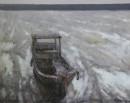 滩涂 80x100cm 2013年布面油画