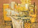 桌上的器皿No9,120x90cm 2008年布面油画