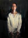 女肖像  120x90cm 2014年