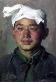 靳尚谊油画:陕北青年