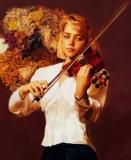 陈逸飞作品赏析:《小提琴手》