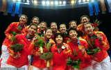 中国女排笑容与泪水凝结的金牌