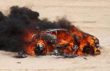 赛车不幸自燃