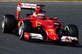 图文-F1季前第二轮试车次日 法拉利车队莱科宁