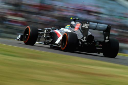 图文-F1日本站周五练习赛 索伯车队古铁雷兹