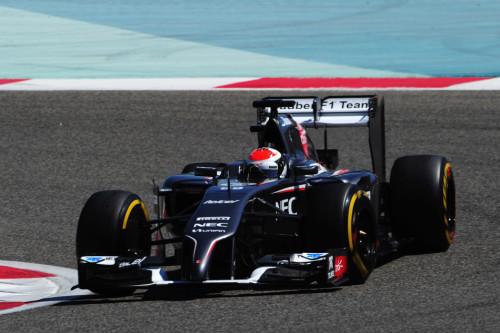 图文-F1巴林试车第八日 索伯车队苏蒂尔