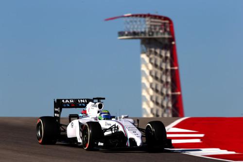 图文-F1美国站周五首次练习 威廉姆斯车队马萨