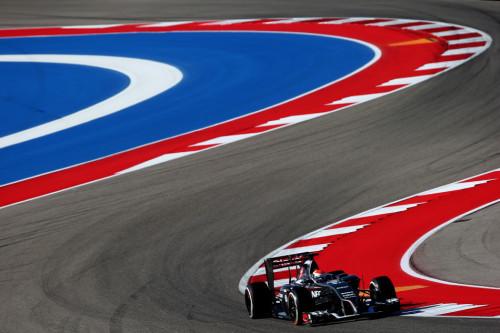 图文-F1美国站第2次练习 索伯车队苏蒂尔