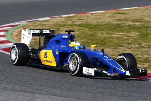 图文-F1季前第二轮试车次日 索伯车队埃里克森