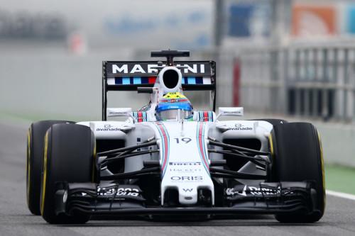 图文-F1季前第二轮试车三日 威廉姆斯车队马萨