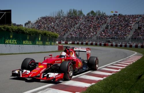 图文-F1加拿大站排位赛 法拉利车队维泰尔