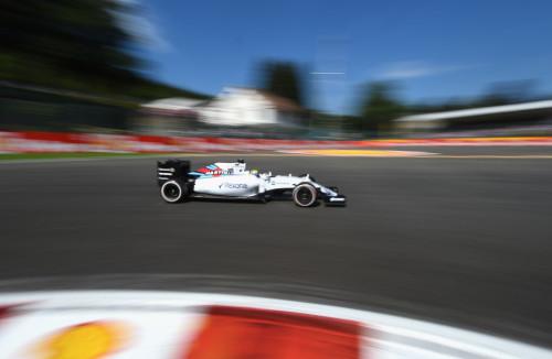 图文-F1比利时站排位赛 威廉姆斯车队马萨