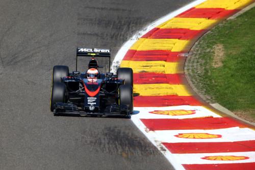 图文-F1比利时站排位赛 迈凯轮车队巴顿