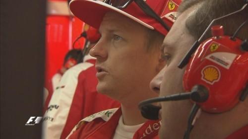 图文-F1美国站第三次练习赛 法拉利车队莱科宁