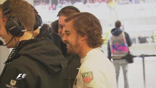 图文-F1美国站第三次练习赛 迈凯轮车队阿隆索