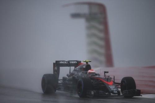 图文-F1美国站排位赛 迈凯轮车队巴顿