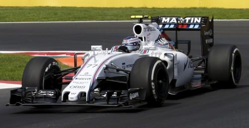 图文-F1墨西哥站正式比赛 威廉姆斯车队博塔斯