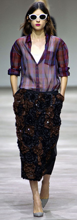 Dries Van Noten 2013春夏秀场