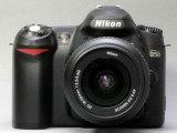 尼康D50 相机外观