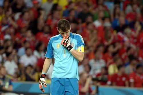 高清图-新浪直击西班牙0-2智利