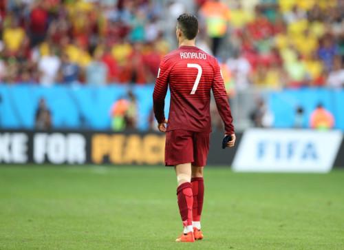 高清图-C罗告别巴西世界杯
