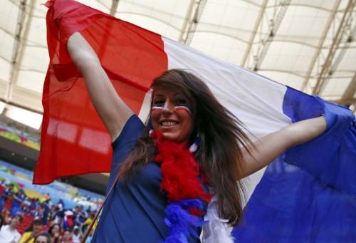 法国尼日利亚球迷集锦
