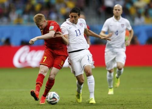 [1/8决赛]比利时2-1美国