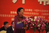 顾秀莲:解决中小企业困难 助力中小企业发展