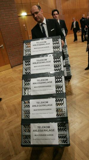 德国电信遭遇股民索赔八千万欧元