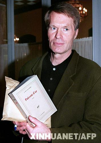 法国作家勒-克莱齐奥获2008年度诺贝尔文学奖