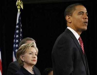 奥巴马正式提名希拉里出任国务卿(组图)
