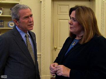 布什称向其扔鞋的伊拉克记者想出恶名