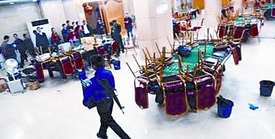 缅甸特区张贴出关闭皇冠公司,盛源公司,新皇庭公司三家赌场的
