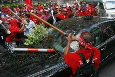 泰国副总理秘书长称已逮捕数名抗议者