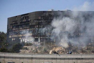 美国飞机撞楼事件致2死13伤奥巴马听取汇报