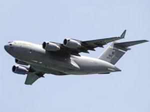 美军C-17运输机坠毁