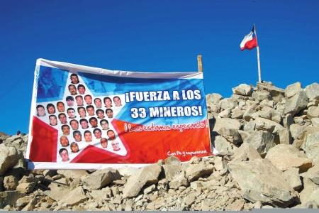 智利被困矿工创矿难生还纪录