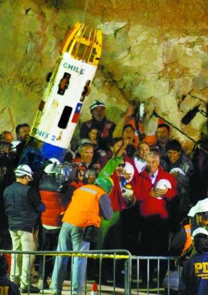 医生将为智利获救矿工使用人造眼泪(组图)