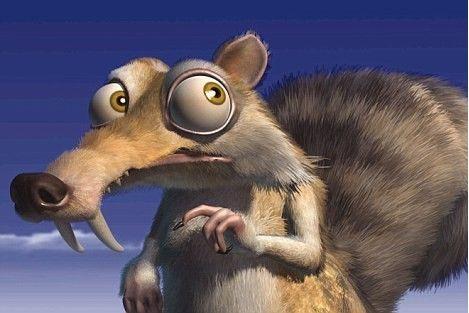 松鼠的眼睛和嘴巴怎样画才可爱