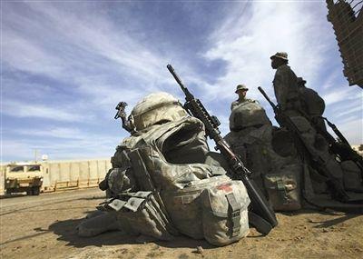 12月18日,最后一批美军收拾行李回家。