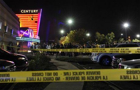 枪击案现场已被美国警方封锁