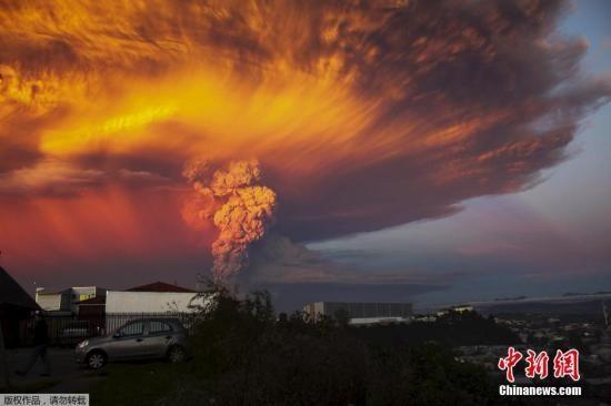 智利火山爆发扰乱南美洲国际航空多趟航班取消
