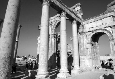 叙利亚历史古城巴尔 米拉。 图/CFP