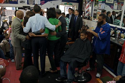 组图:新闻人物类组照一等奖-奥巴马竞选总统