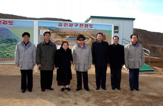 金正日号召朝鲜人民投身于经济建设(组图)