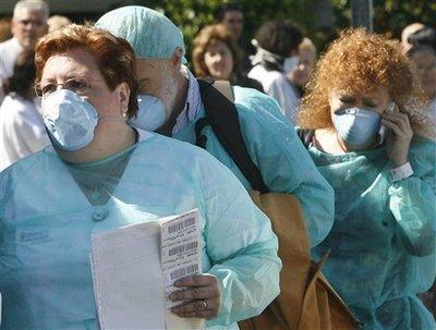 欧洲出现第一例猪流感病毒患者(组图)
