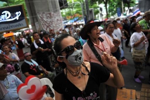 示威者拒绝撤离