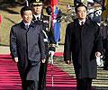 胡锦涛2005年11月访问韩国