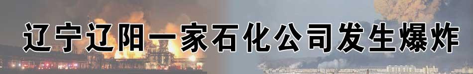 辽宁辽阳一家石化公司发生爆炸