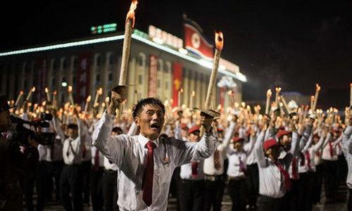 朝鲜纪念朝鲜劳动党成立70周年